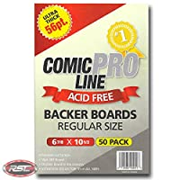 "Comic Pro Line Backerボード超厚56pt「Regular」サイズメジャー6–7/ 8"" x 10–1/ 2"""