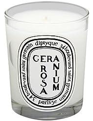 Diptyque フレグランスキャンドル ジェラニオムローザ 190g [400222] [並行輸入品]