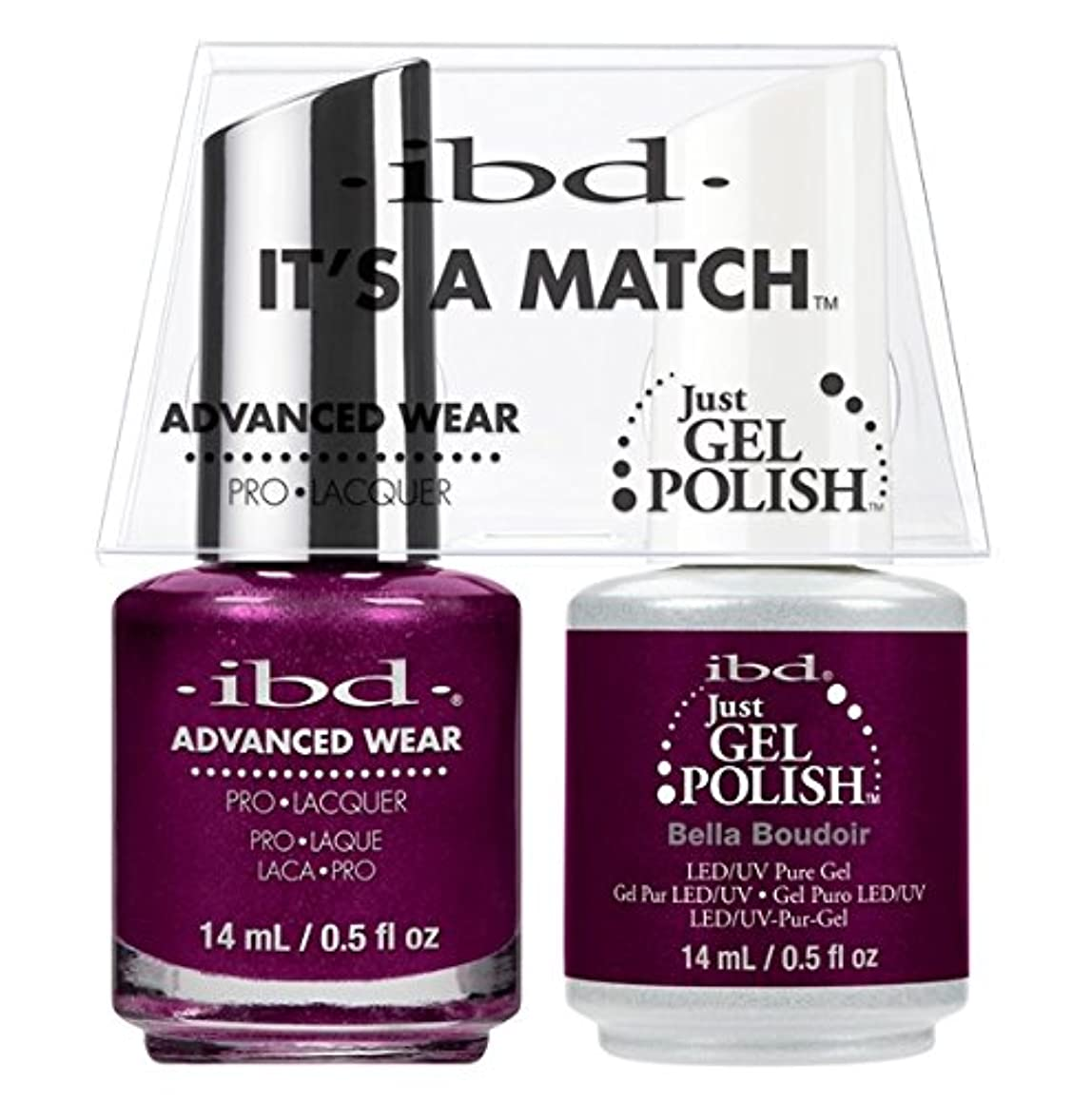 注ぎます写真バーチャルibd - It's A Match -Duo Pack- Bella Boudoir - 14 mL / 0.5 oz Each