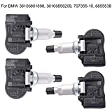 4-Pack Tire Pressure Monitoring System TPMS Sensor Compatible with BMW