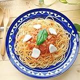 地中海からの美味しい恵み ブルーマジョリカ パスタカレープレートL 洋食器 お皿 深皿 料理