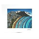 (ヘザーブラウン)HEATHER BROWN アートプリント 絵画 ART PRINT Mサイズ W35.6×H28.0cm WAIKIKI ワイキキ サイン入り HB9151P/WAIKIKI [並行輸入品]