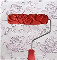 "bueer 7"" DIY Patternedペイントローラーで装飾ゴムローラープラスチックハンドル guntong0036-40"