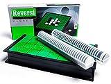 ぶつかってもズレない! マグネット リバーシ 定番テーブルゲーム コンパクト収納