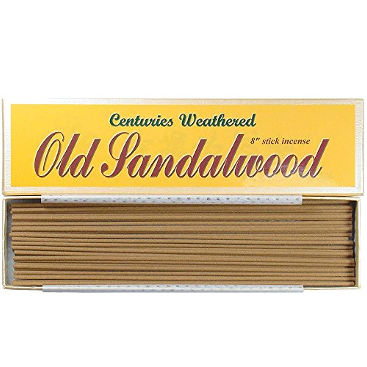 従来のマガジン良心風化何世紀もIndian古いサンダルウッド – 8