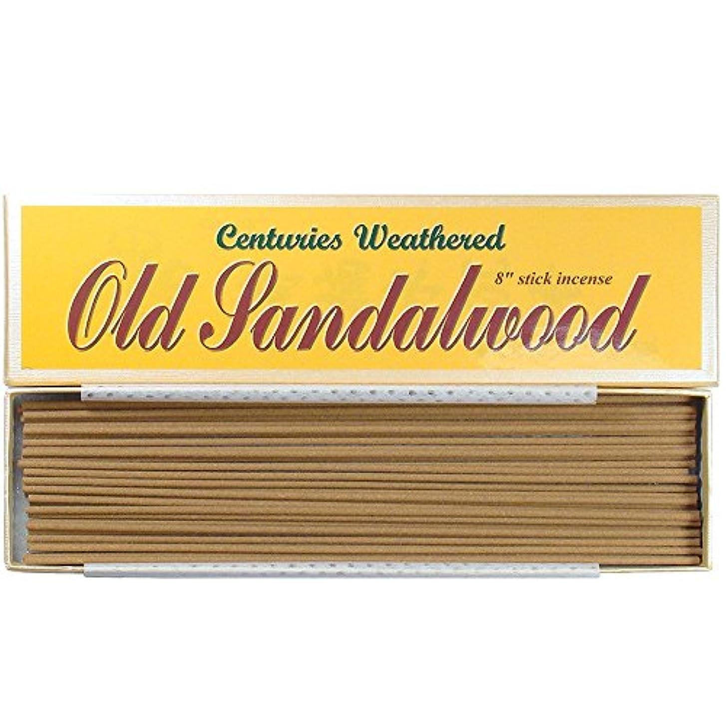 風化何世紀もIndian古いサンダルウッド – 8