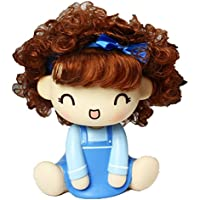 Lucky Beth Car Ornaments Bobblehead Doll Cute Little Cartoon Car Accessories Vehicle Spring Decorations