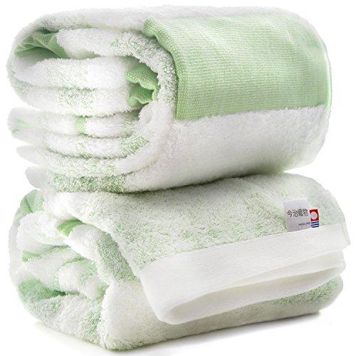 [해외]이마 직물 이마 바리 수건 간단한 국경 목욕 타월 2 장 세트/Imabari Fabric Imabari Towel Simple Border Bath Towel Set of 2