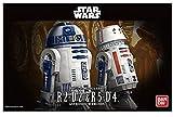 スターウォーズ 1/12 R2-D2&R5-D4 プラモデル