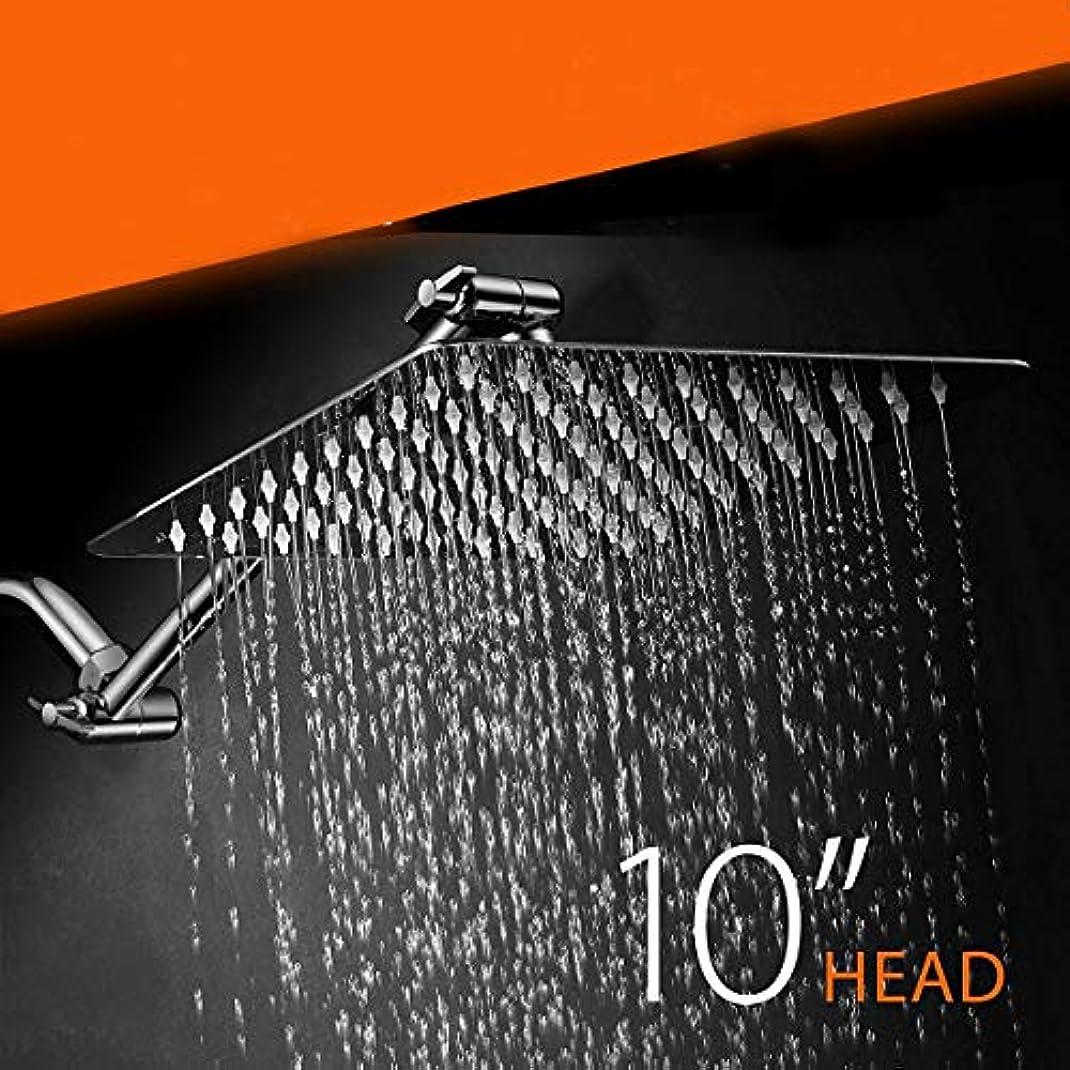 晴れ教ルーキーレインシャワーヘッド、バスルームハンドヘルドシャワーヘッド高圧セービングウォーターシャワーヘッドシャワーヘッドレインシャワーラウンドステンレススチール