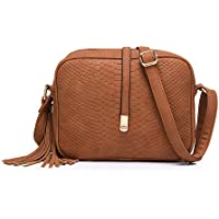 Realer Cross Body for Women Small Shoulder Bags PU Leather Side Purse