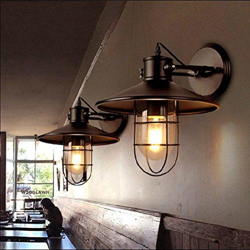 Susuoインダストリアル ブラケットライト ss371424 屋外用 鉄製 ブラック 1灯
