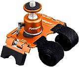 Fotopro カメラ固定具 アクションマウント AM-802 オレンジ 自由雲台 806031