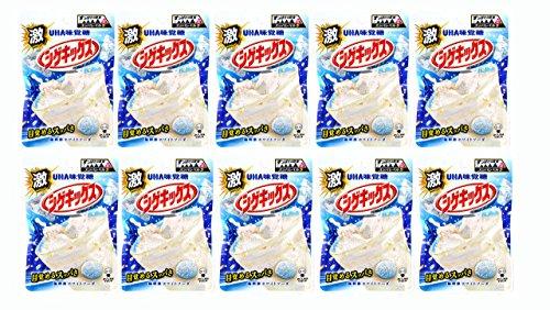 味覚糖 激シゲキックス 極刺激ホワイトソーダ 20g×10袋
