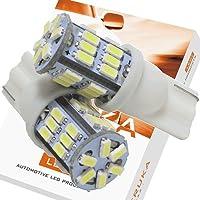 エルカ(Eruka) T10 T16 兼用 LED ウェッジ球 自慢の3014型LEDをギッチリたっぷり30連 2個 ホワイト エルカだけの国内独自検査 MU-075-2S