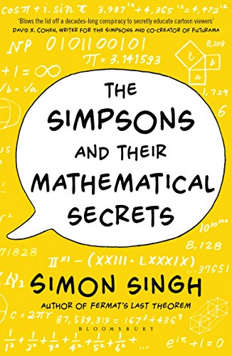 [画像:The Simpsons and Their Mathematical Secrets [Paperback] [Oct 01, 2014] Simon Singh]