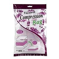 シール真空保管袋キルツ防湿枕コンフォーターオーガナイザー圧縮バッグ(60 * 80cm)