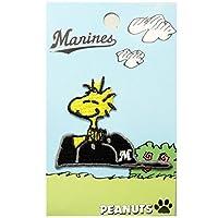 ミノダ スヌーピーデコシール SNOOPY Marines Woodstock S02R8688