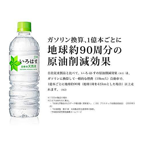 いろはす 天然水 ペットボトル 285ml×24本