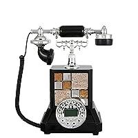 ヴィンテージフォン - ファッションヨーロッパのレトロパーソナリティ電話番号の機能環境保護ポリエステルアンティーク固定電話
