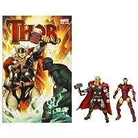 マーベル ユニバース MarvelUniverse 3.75インチ コミック 2パック ソー & アイアンマン [おもちゃ&ホビー]