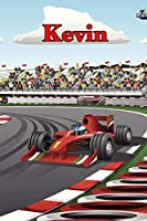 """Kevin: Racecar Blood Sugar Diet Diary Journal log book 120 pages 6""""x9"""""""