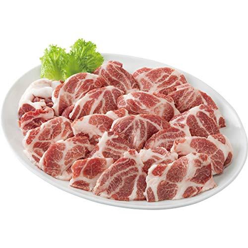 スペイン産イベリコ豚ベジョータ 一口ステーキ用肩ロース(600g) お中元お歳暮ギフト贈答品プレゼントにも人気