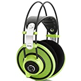 AKG Q701 Quincy Jones Signature Line Reference-Class Premium Headphones - Green