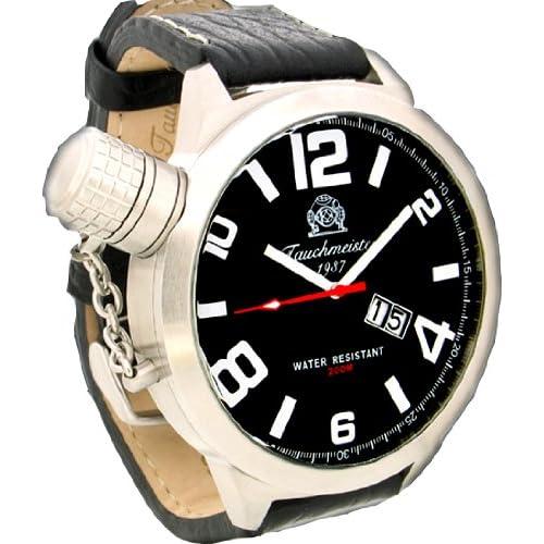 [トーチマイスター1937]Tauchmeister1937 腕時計 ドイツ製二戦ドイツ海軍U-BOOT復刻 SWISS-BIG-DATE T0150 (並行輸入品)