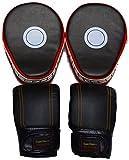 (スーパーソニックマーケティング) 湾曲型 ミット & パンチング グローブ セット ボクシング ボクササイズ