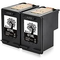 H&BO HP 61 XL BK ( 2個) 増量 【再生インクカートリッジ】 リサイクル 対応機種:ENVY 4500 5530 Officejet 4630
