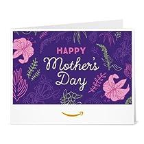 Amazonギフト券- 印刷タイプ(PDF) - 母の日(フローラル)