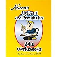 Nasco TB20656T Algebra II and Precalculus Joke Worksheets 61-Page Book Grades 9+ [並行輸入品]