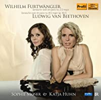 Sonatas for Violin & Piano by FURTWANGLER / BEETHOVEN (2011-04-26)