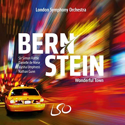 バーンスタイン : ワンダフル・タウン / サー・サイモン・ラトル   ロンドン交響楽団 (Bernstein : Wonderful Town / Sir Simon Rattle & LSO) [SACD] [Import] [日本語帯・解説付]
