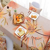 テーブルクロステーブルマットアンチスケールの綿のリネンガーデンスタイル新しい中国の古典的な中国のスタイルのお茶テーブルクロス (色 : A, サイズ さいず : 110 * 170cm)