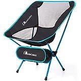 Moon Lence アウトドアチェア 折りたたみ コンパクト 超軽量 キャンプ椅子 イス 収納バッグ付き ハイキング お釣り 登山