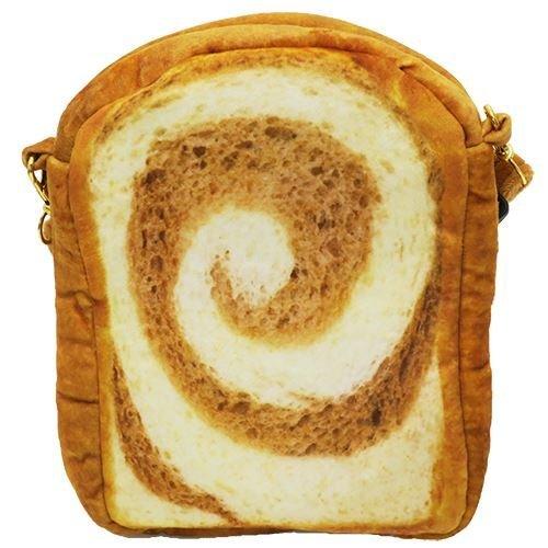 チョコマーブル トースト[ポシェット]まるでパンみたいな ショルダーポーチ2