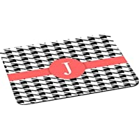 Rikki Knight Letter J Tropical Pink Houndstooth Lightning Series Gaming Mouse Pad (MPSQ-RK-46310) [並行輸入品]