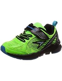 [シュンソク] 運動靴 通学履き 瞬足 幅広 衝撃吸収 高反発 15~23cm 3E キッズ 男の子