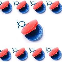 教育 遊戯 用 / 木製 ハンド カスタネット セット (10点 セット) 子供 知育 玩具 楽器