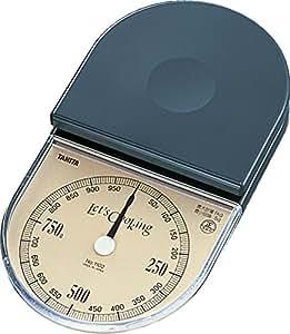 タニタ(TANITA)アナログクッキングスケール フィノ 1kg ダークブルー 1102-DB