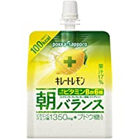 ポッカサッポロ キレートレモン 朝バランスゼリー 180g