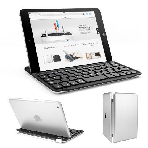 Anker iPad mini ウルトラスリムキーボードカバー iPad Mini/Mini Retina/Mini2/Mini3 に対応 (iPad Mini 4非対応) オートスリープ自動ON/OFF機能付 【18ヶ月保証】