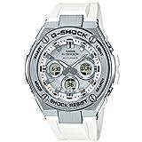【セット】クロス・1本用ケース(WH) 付[カシオ]CASIO 腕時計 G-SHOCK ジーショック G-STEEL 電波ソーラー GST-W310-7AJF メンズ