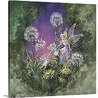 "Mimi Jobeプレミアムシックラップキャンバス壁アート印刷題名Fairy Magic II 36"" x 36"" 2333371_24_36x36_none"