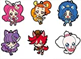 キラキラ☆プリキュア アラモード ラバーストラップ BOX商品 1BOX = 6個入り、全6種類