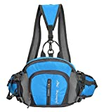 (ヒラロキ) Hilarocky ウエストバッグ ショルダーバッグ リュック スポーツバッグ 旅行 アウトドア 防水 コンパクト 4WAY