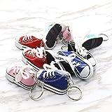 コンバース キャンバス ミニキャンバススニーカーテニス靴Chucksキーチェーン10個パック