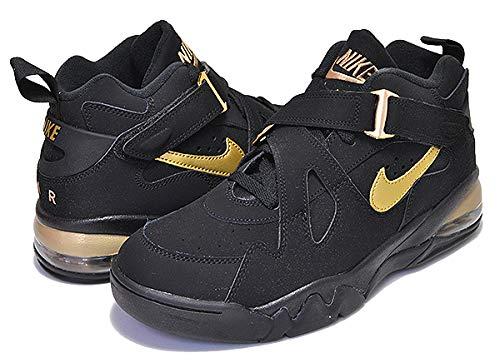 [ナイキ] エアフォースマックス CB AIR FORCE MAX CB black/metallic gold CHARLES BARKLEY スニーカー バスケットボール バッシュ 26.5cm(US8h) [並行輸入品]